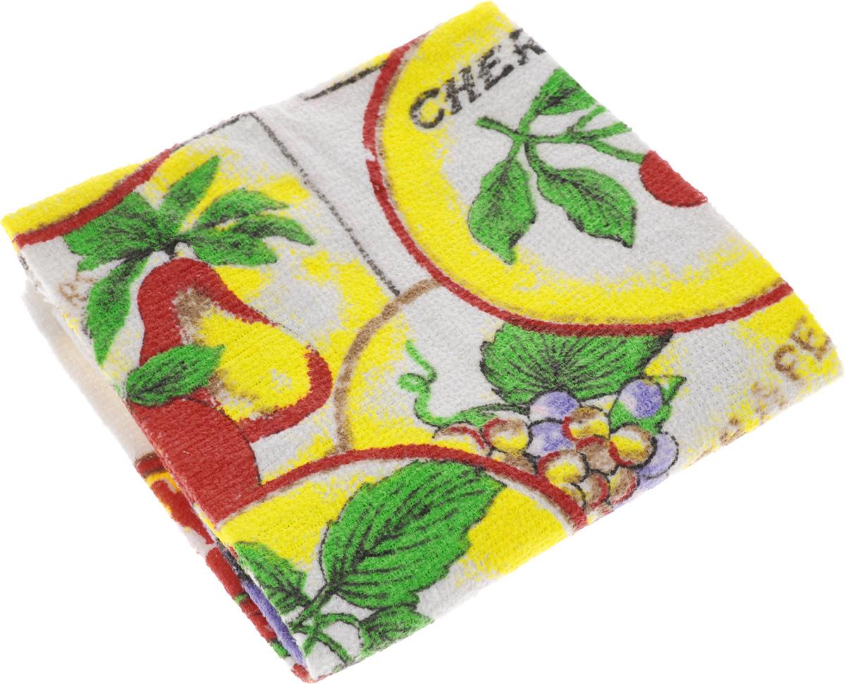 Полотенце кухонное Home Queen Фрукты, 38 х 64 смVT-1520(SR)Кухонное полотенце Home Queen Фрукты, выполненное из 100% хлопка, оформлено ярким рисунком. Изделие предназначено для использования на кухне и в столовой.Такое полотенце станет отличным вариантом для практичной и современной хозяйки.