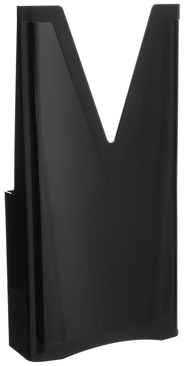 Мультибокс для овощерезки Borner, цвет: черный3410077_черныйМультибокс Borner выполнен из высококачественного пластика. Это важный аксессуар для хранения основного (базового) комплекта овощерезок моделей Профи, Оптима и Вип (V-рама, три вставки, плододержатель). На обратной стороне корпуса мультибокса имеется замок-ограничитель: маленькие дети не смогут достать самостоятельно острые ножи.Размер мультибокса: 27 х 14 х 7,5 см.