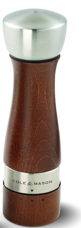 Мельница для соли Cole & Mason Oldbury, высота 19 смVT-1520(SR)Мельница для соли Cole & Mason Oldbury, изготовленная высококачественного дерева, легка в использовании. Стоит только покрутить верхнюю часть мельницы, и вы с легкостью сможете посолить по своему вкусу любое блюдо. Механизм мельницы изготовлен из высококачественной стали. Изделие имеет 3 степени помола.Оригинальная мельница модного дизайна будет отлично смотреться на вашей кухне. Мельница уже содержит соль.