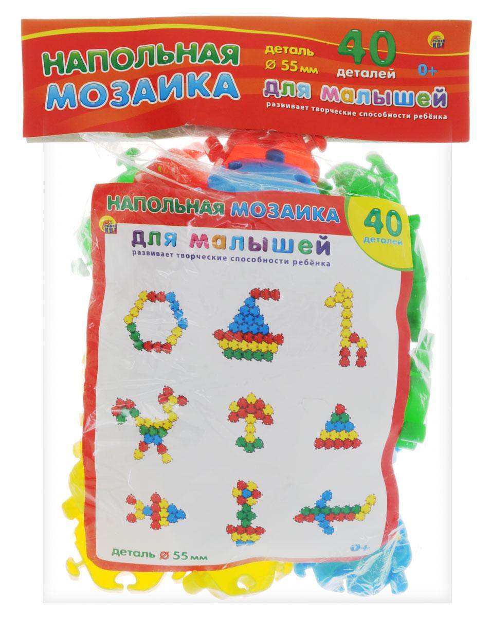 Рыжий Кот Мозаика напольная для малышей мозаика напольная 55 элементов