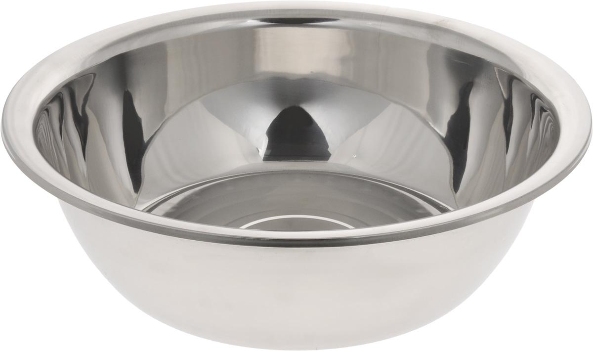 Таз Mayer & Boch, 11 лVCA-00Таз Mayer & Boch изготовлен из высококачественной пищевой нержавеющей стали. Применяется во время стирки или для хранения различных вещей. Комбинированная полировка поверхности (зеркальная и матовая) придает изделию привлекательный внешний вид. Внутренняя поверхность идеально ровная, что значительно облегчает мытье.Диаметр (по верхнему краю): 43 см.Высота стенки: 12 см.