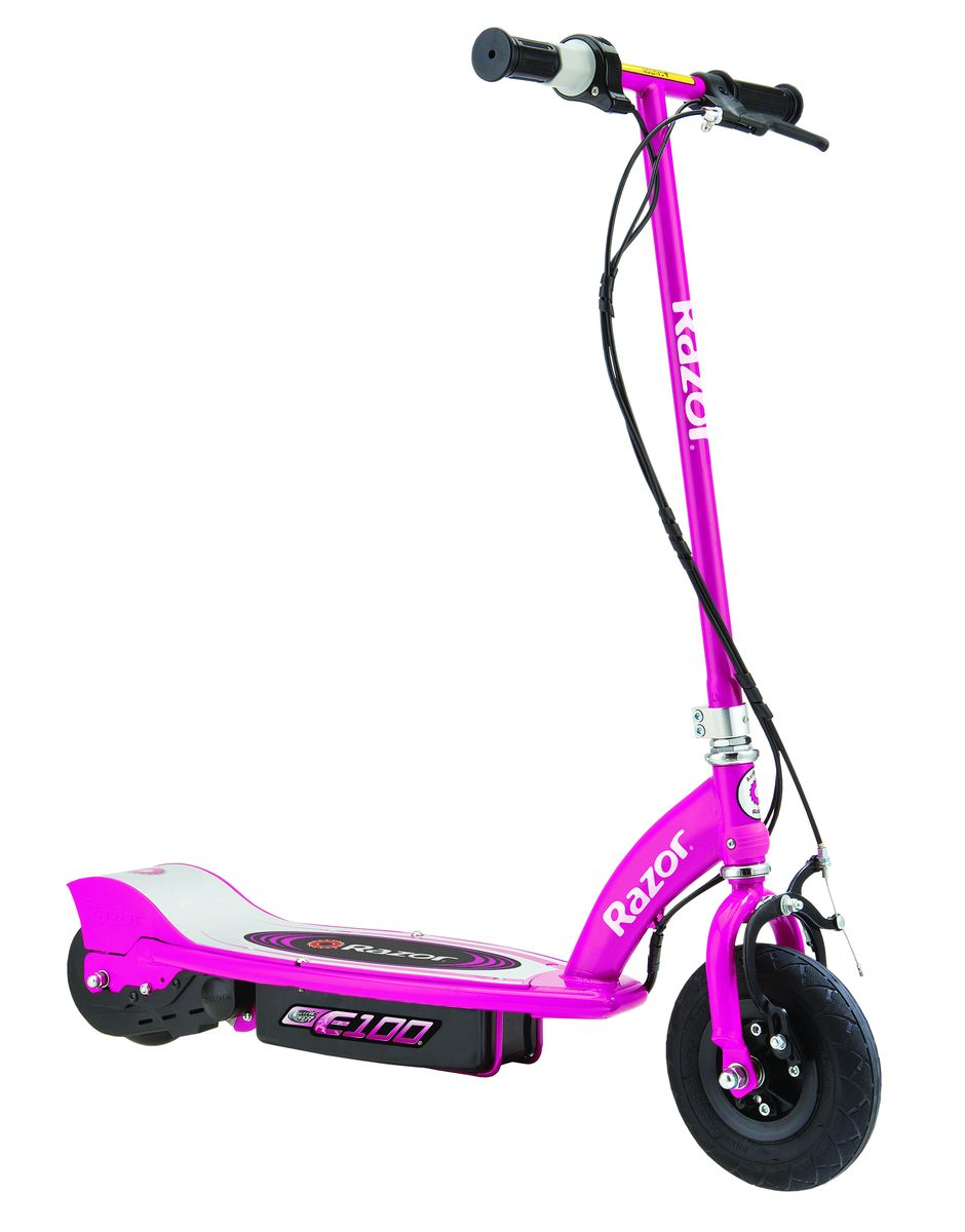 Электросамокат Razor E100, цвет: розовый010202