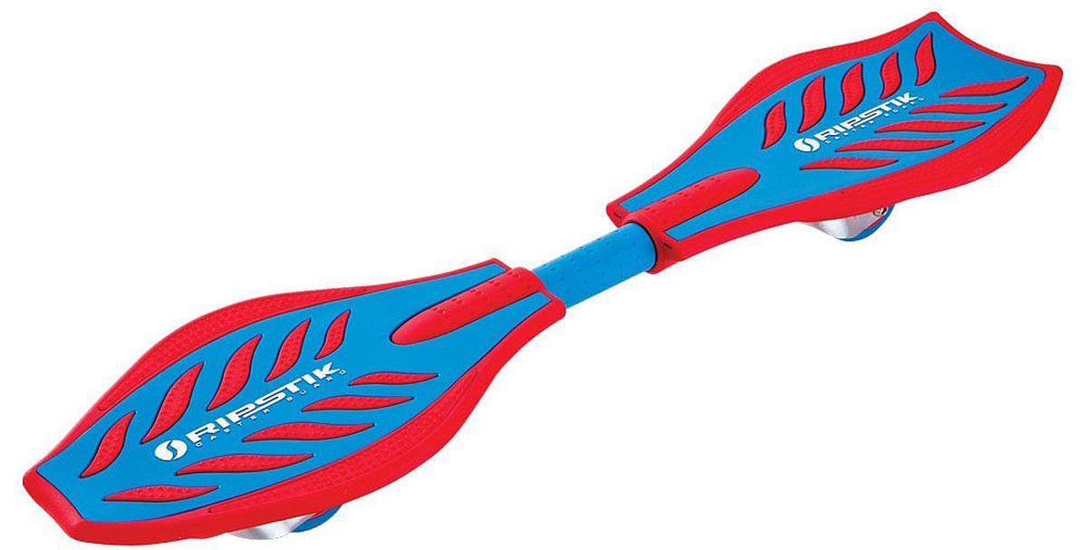 Роллерсерф Razor RipStik, цвет: красный, синий, длина деки 84 см050711Балансирующий скейтборд Razor Ripstick с двумя колесами - отличный выбор для опытных скейтбордистов, а также людей, любящих активно проводить время. Колеса скейтборда выполнены из прочного полиуретана и вращаются на 360°. Дека оснащена рельефным покрытием, благодаря чему ноги не скользят во время катания. В последнее время экстремальные виды спорта, такие как катание на скейтборде, становятся очень популярными. Скейтбординг - это зрелищный и экстремальный вид спорта, представляющий собой катание на роликовой доске с преодолением препятствий и выполнением различных трюков.