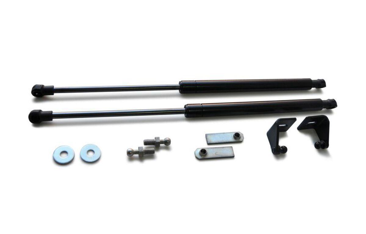 Амортизаторы капота Автоупор, для Mitsubishi ASX, UMIASX012K100Газовые амортизаторы капота Автоупор - очень удобная и практичная вещь для автомобилей, на которых данная опция не предусмотрена с завода. В большинстве случаев газовые упоры капота устанавливаются на автомобили премиум класса, но теперь и вы можете почувствовать удобства использования данного продукта.В комплекте набор крепежа.