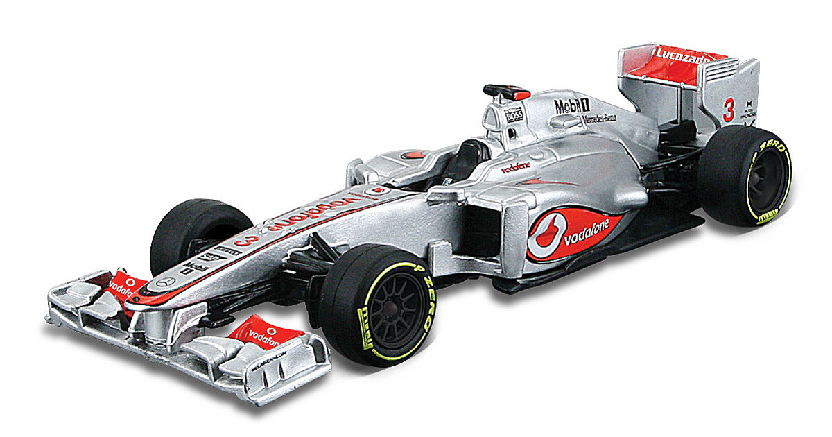 Bburago Модель автомобиля 2012 Vodafone McLaren Mercedes MP4-27 Jenson Button машины bburago машина формула 1 команда 2012 mclaren