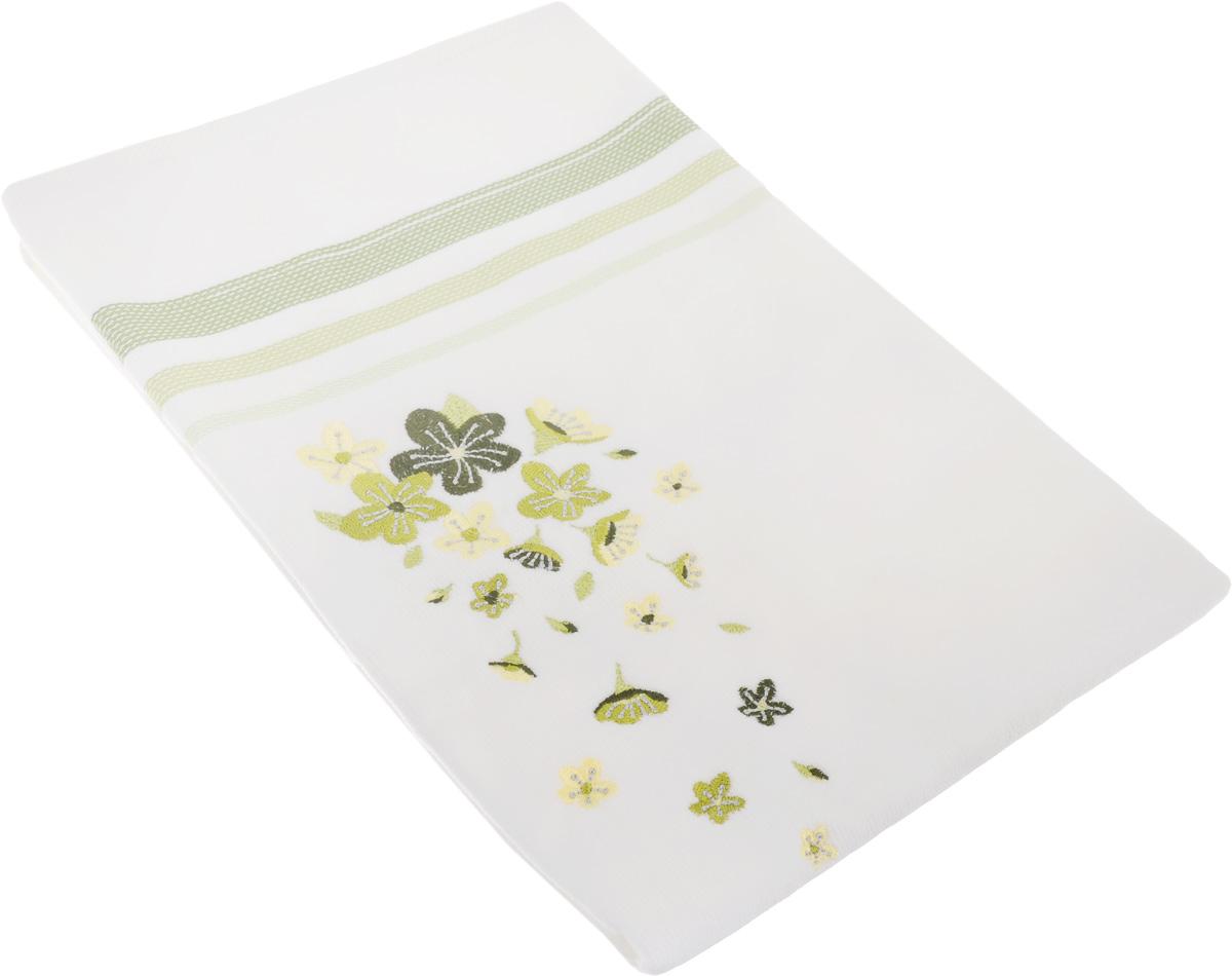 Полотенце махровое TAC Adelia, цвет: белый, зеленый, 50 x 90 см1004900000360Махровое полотенце TAC Adelia выполнено из натуральной махровой ткани (100% хлопок). Изделие отлично впитывает влагу, быстро сохнет, сохраняет яркость цвета и не теряет форму даже после многократных стирок. Полотенце очень практично и неприхотливо в уходе. Такое полотенце прекрасно дополнит интерьер ванной комнаты.Рекомендации по уходу:- режим стирки при 40°C,- допускается деликатная сухая химчистка, - отбеливание запрещено,- глажка при температуре подошвы утюга до 200°С,- рекомендуется щадящий барабанный отжим.