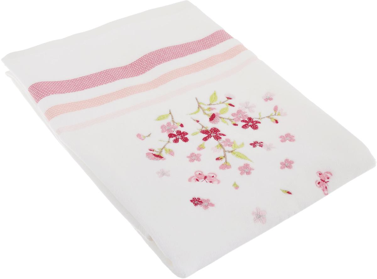 Полотенце махровое TAC Legrand, цвет: розовый, белый, 50 x 90 см10503Махровое полотенце TAC Legrand выполнено из натуральной махровой ткани (100% хлопок). Изделие отлично впитывает влагу, быстро сохнет, сохраняет яркость цвета и не теряет форму даже после многократных стирок. Полотенце очень практично и неприхотливо в уходе. Такое полотенце прекрасно дополнит интерьер ванной комнаты.Рекомендации по уходу:- режим стирки при 40°C,- допускается деликатная сухая химчистка,- отбеливание запрещено,- глажка при температуре подошвы утюга до 200°С,- рекомендуется щадящий барабанный отжим.Размер полотенца: 50 x 90 см.
