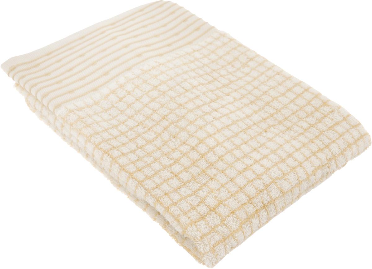 Полотенце махровое TAC Duende, цвет: светло-коричневый, 50 x 90 см68/5/3Махровое полотенце TAC Duende выполнено из натуральной махровой ткани (100% хлопок). Изделие отлично впитывает влагу, быстро сохнет, сохраняет яркость цвета и не теряет форму даже после многократных стирок. Полотенце очень практично и неприхотливо в уходе. Такое полотенце прекрасно дополнит интерьер ванной комнаты.Рекомендации по уходу:- режим стирки при 40°C,- допускается деликатная сухая химчистка,- отбеливание запрещено,- глажка при температуре подошвы утюга до 200°С,- рекомендуется щадящий барабанный отжим.Размер полотенца: 50 x 90 см.