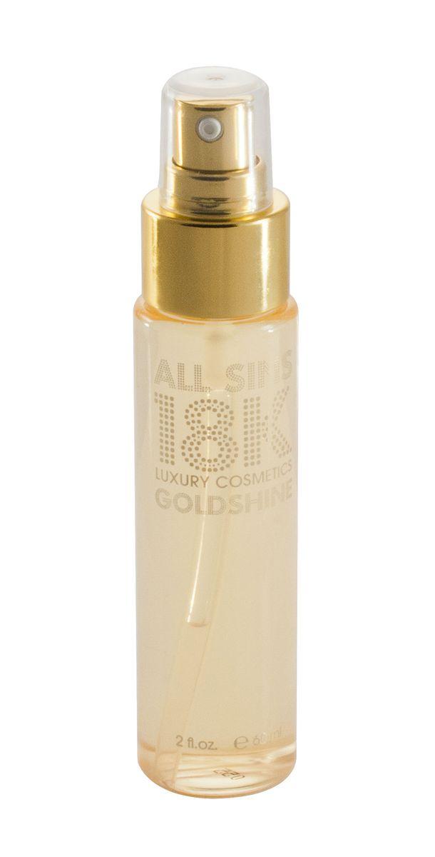 All Sins 18K Goldshine Увлажняющая сыворотка для волос с золотом, 60 мл0471596014Сыворотка отлично смягчает волосы и способствует длительному эффекту от укладки. Ее применяют для выпрямления волос, т.к. она является защитой структуры волос от термических воздействий приборов для укладки