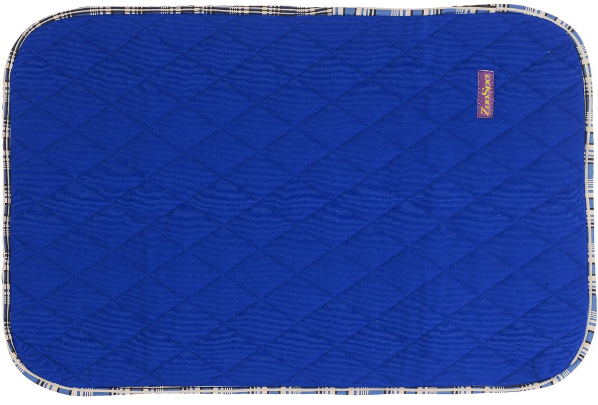 Пеленка впитывающая для животных ZooSpa, многоразовая, 5-ти слойная, цвет: синий, 70 x 50 см101246Пеленка ZooSpa используется как комфортная впитывающая подстилка в туалетных лотках, в переносках, в автомобиле. Быстро поглощает жидкость в значительных объемах (до 2,5 л на 1 кв. м). Изделие выполнено из 100% полиэстера и ткани ABSO (многослойная абсорбирующая ткань с полиуретановой мембраной). Пеленка состоит из пяти слоев, которые обеспечивают абсолютную защиту от протекания, быстро высыхает и не скользит, лапки вашего питомца всегда сухие, отсутствуют неприятные запахи. Многоразовую пеленку можно стирать минимум 300 раз без потери функциональных свойств. Такая пеленка не загрязняют окружающую среду и экономят ваши деньги. Не содержит наполнителей, не выделяет опасных химических веществ, очень прочная ткань, которую сложно прогрызть или разорвать.Размер пеленки: 70 х 50 см. Материал: ткань ABSO (многослойная абсорбирующая ткань с полиуретановой мембраной), 100% полиэстер.