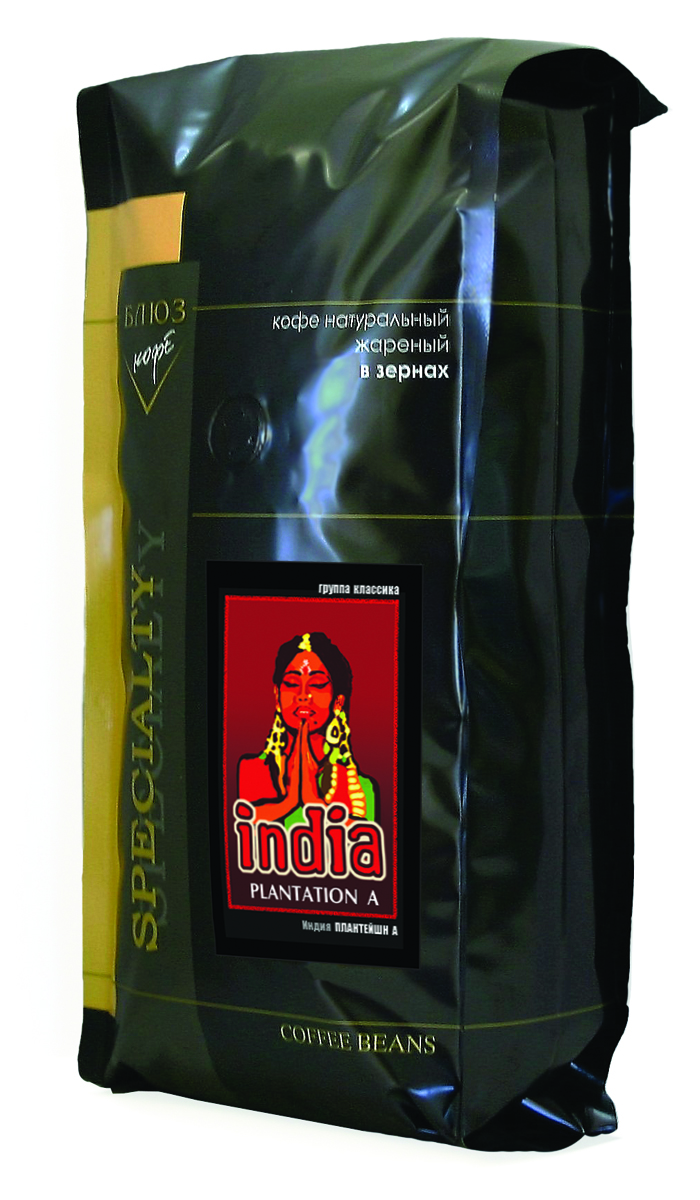 Блюз Индия Плантейшн А кофе в зернах, 1 кг101246Арабика, выращенная на кофейных плантациях Индии, обладает приятным, горьковатым вкусом и сильным, хорошо выраженным ароматом. Настой кофе Блюз Индия Плантейшн А насыщенный, с низкой кислотностью.В Индию кофе был занесен в начале XVII столетия магометанским паломником Баба Буданом, который и начал разводить его на холмах близ Майсура. Многие знатоки относят индийский кофе к экстра-классу, а лучшие сорта сравнивают с колумбийским кофе. В колыбели цивилизаций - Индии, кофе пьют даже слоны! Так, в индийском городе Удупи прирученные слоны из храма Шри Кришны ежедневно выпивают по одному ведерку кофе после каждой еды. Если будете пить кофе, вы станете сильным, как слон - улыбаются местные жители.