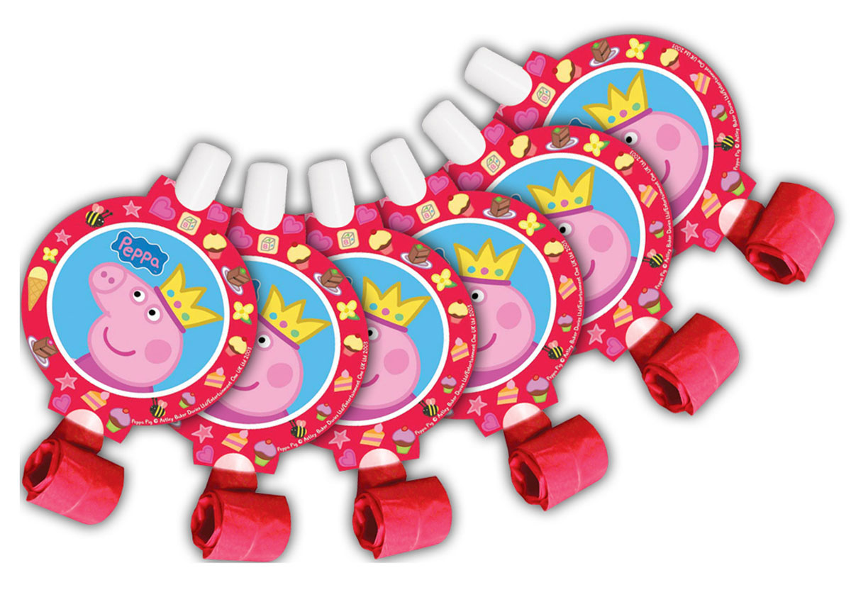 Peppa Pig Язычок Пеппа-принцесса 6 шт