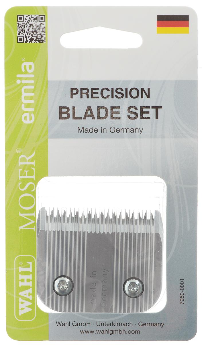 Ножевой блок Moser 30F, для машинки Moser Max 45, съемный, 1 мм101246Ножевой блок Moser 30F - профессиональный быстросъемный прецизионно заточенный ножевой блок из высококачественной стали, изготовленный в Германии с использованием технологии высокоточной шлифовки. Блок с мелкими зубцами. Совместим с моделями машинок 1245, 1247, 1250, 1260, 1261, 1262, 1290. Высота среза: 1 мм. Ширина ножевого блока: 49 мм. Шаг зубцов: 1,63 мм.