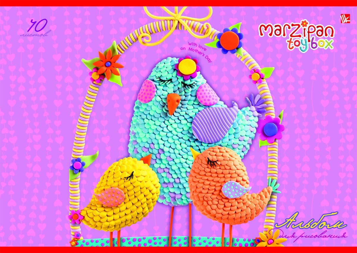 Listoff Альбом для рисования Очаровательные пташки 40 листов2010440Альбом для рисования Listoff Очаровательные пташки непременно порадует вашего малыша и вдохновит его на творчество.Яркая, красочная, креативная обложка выполнена из картона с отделкой Твин-лак привлечет внимание юного художника. Обложка альбома оформлена оригинальным красочным изображением. Внутренний блок состоит из 40 листов белой высококачественной бумаги на скрепке, что гарантирует чистоту рисунков, высокое качество и комфорт при рисовании. Рисование поможет раскрыть таланты малыша, а также способствует развитию мелкой моторики и художественного вкуса. А с альбомом для рисования Очаровательные пташки рисовать легко и приятно!Рекомендуемый возраст: от 6 лет.