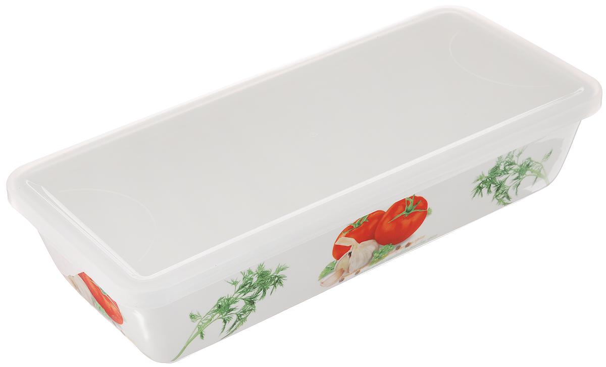 Блюдо для холодца Elan Gallery Помидоры, с крышкой, 1 л блюда elan gallery блюдо для холодца сакура