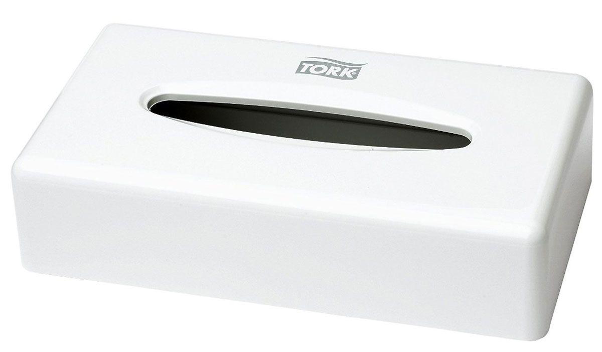 Диспенсер для салфеток для лица Tork, цвет: белый. 270023270023Tork диспенсер для салфеток для лица обеспечивает фиксацию салфеток и защиту от повреждений и кражи, подходит для любой туалетной комнаты. Диспенсер без замка и ключа, захлопывается вручную. Возможность крепления на стену с помощью винтов или липучки. Обеспечивает защиту салфеток от влаги и грязи.Стильный дизайн - подходит к любой туалетной комнате.