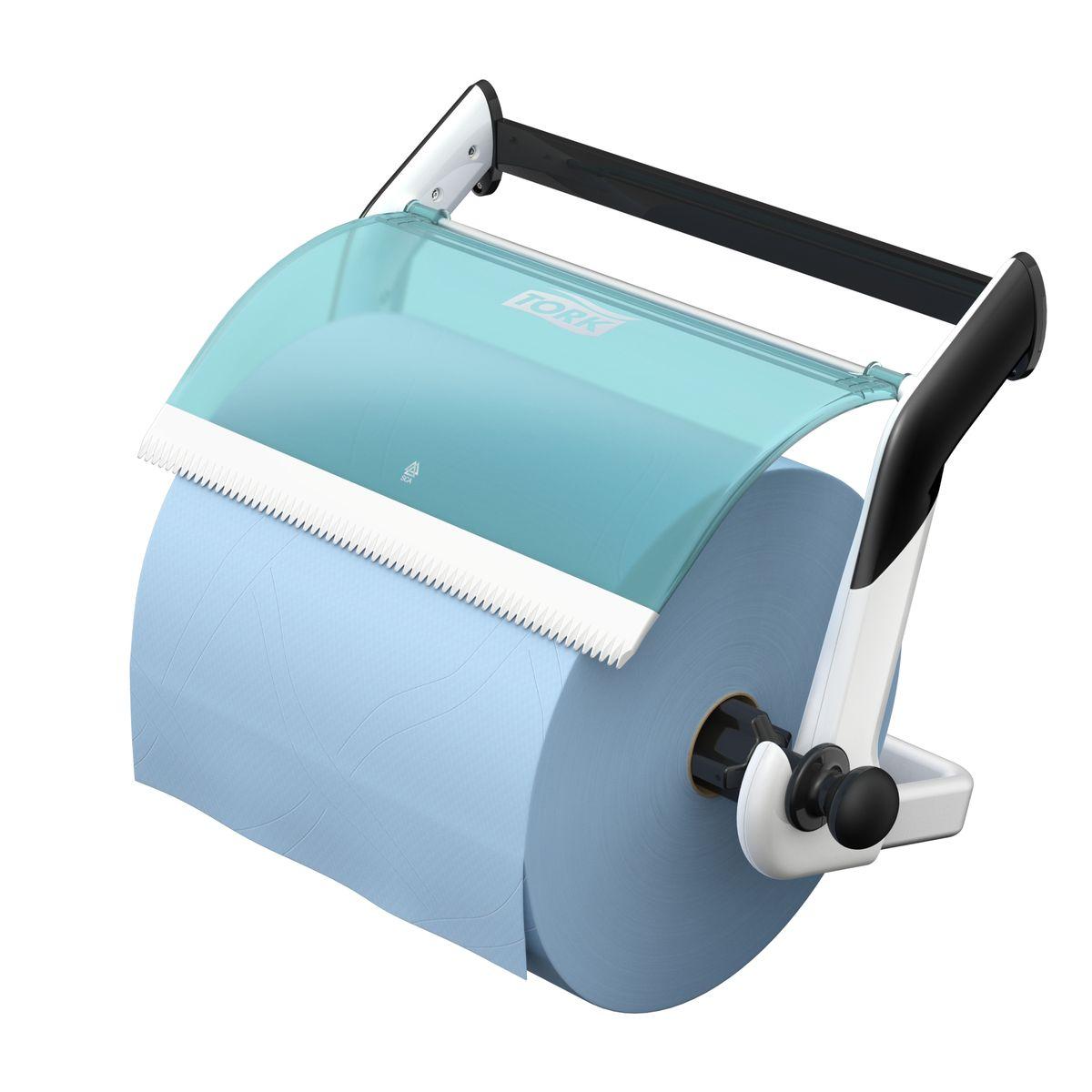 Диспенсер для туалетной бумаги Tork, цвет: белый . 65210010503Держатель для протирочных материалов Tork.Настенный держатель обладает прочной конструкцией и позволит сэкономить место.Быстро и легко менять расходный материал.