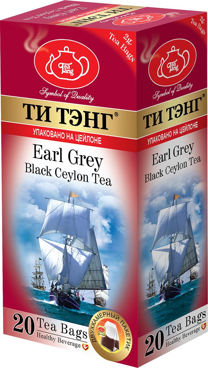 Tea Tang Бергамот черный чай в пакетиках, 20 штбай060рТонкий аромат цитрусового плода бергамот придает черному чаю Tea Tang изысканную легкость. В сочетании с чаем целебный бергамот нормализует пищеварение, облегчает головную боль, тонизирует и повышает работоспособность.