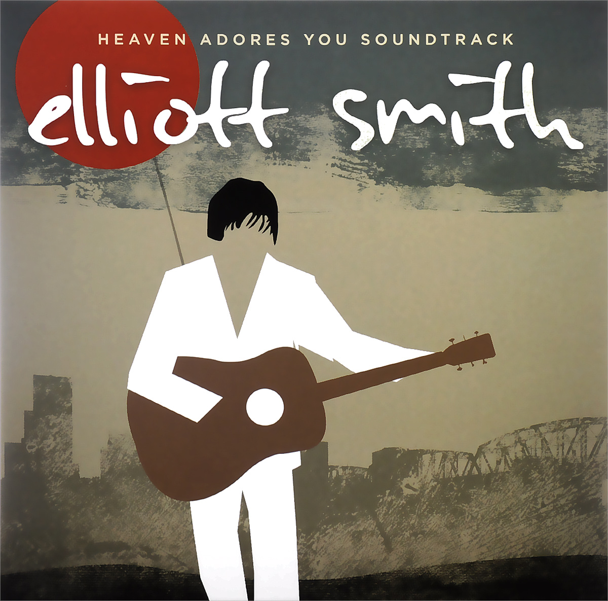 Эллиот Смит,Heatmiser,Neil Gust,Conan O'Brien Elliott Smith. Heaven Adores You. Soundtrack (2 LP) elliott smith elliott smith from a basement on the hill 2 lp