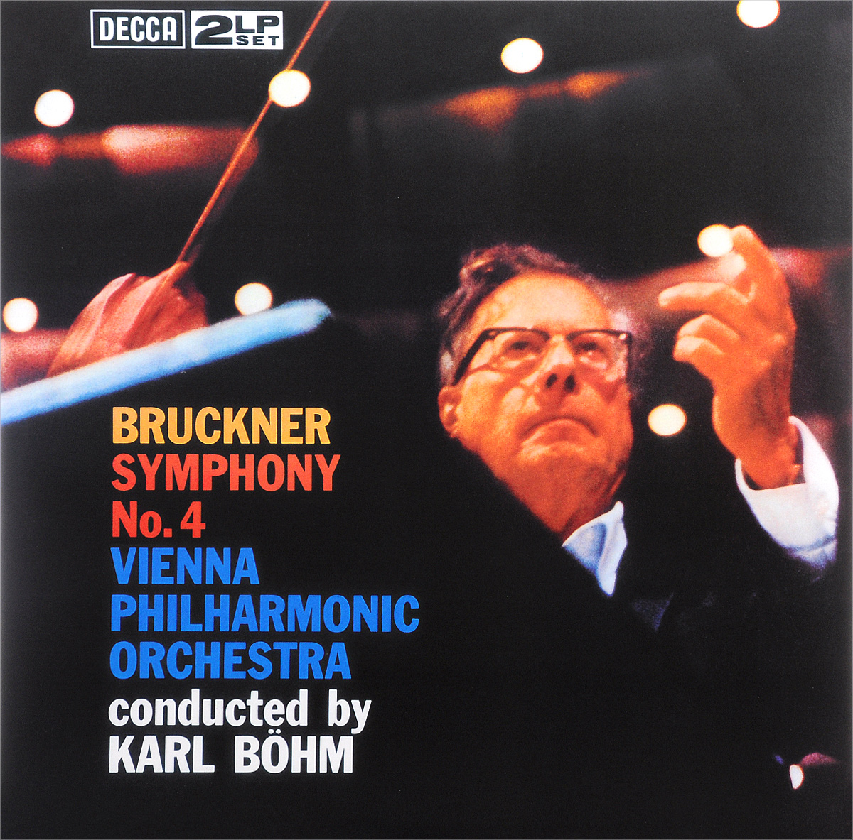 Карл Боэм,Vienna Philharmonic Orchestra Karl Boehm. Bruckner. Symphony No. 4 (LP)