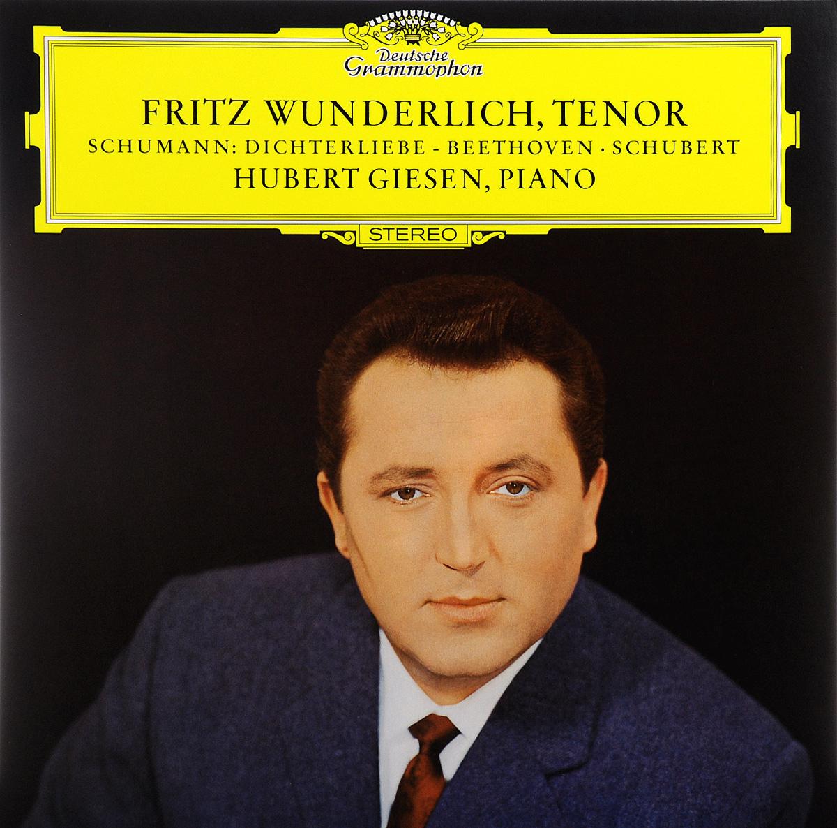 Фритц Вундерлих,Хуберт Гисен Fritz Wunderlich. Hubert Giesen. Schumann / Beethoven / Schubert (LP) vogue on hubert de givenchy