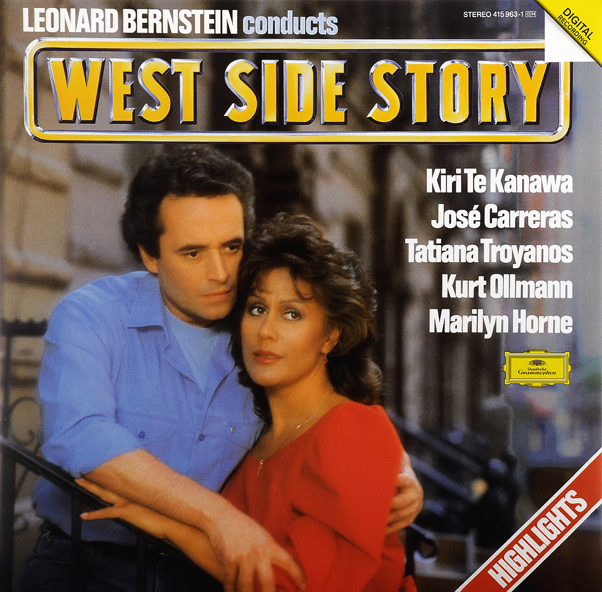 Леонард Бернштейн,Chorus & Orchestra Leonard Bernstein. West Side Story (LP) focal chorus 714 rosewood