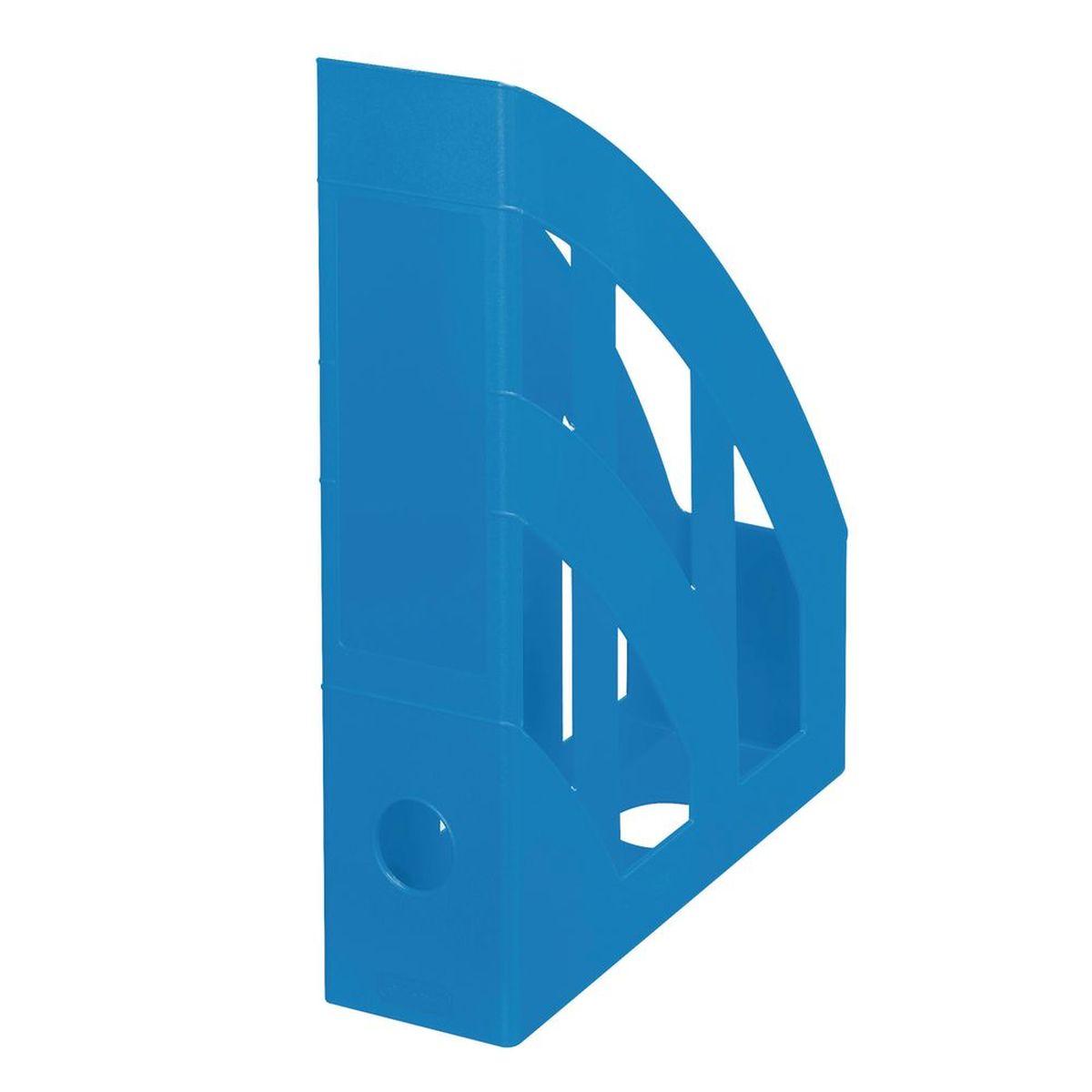 Herlitz Подставка для документов Накопитель вертикальный для бумаг Classic формат А4 цвет синийHA16110/76Накопитель вертикальный, для бумаг Classic. Изготовлен из пластика. Цвет синий. Формат А4. Круглый слот на задней стенке.