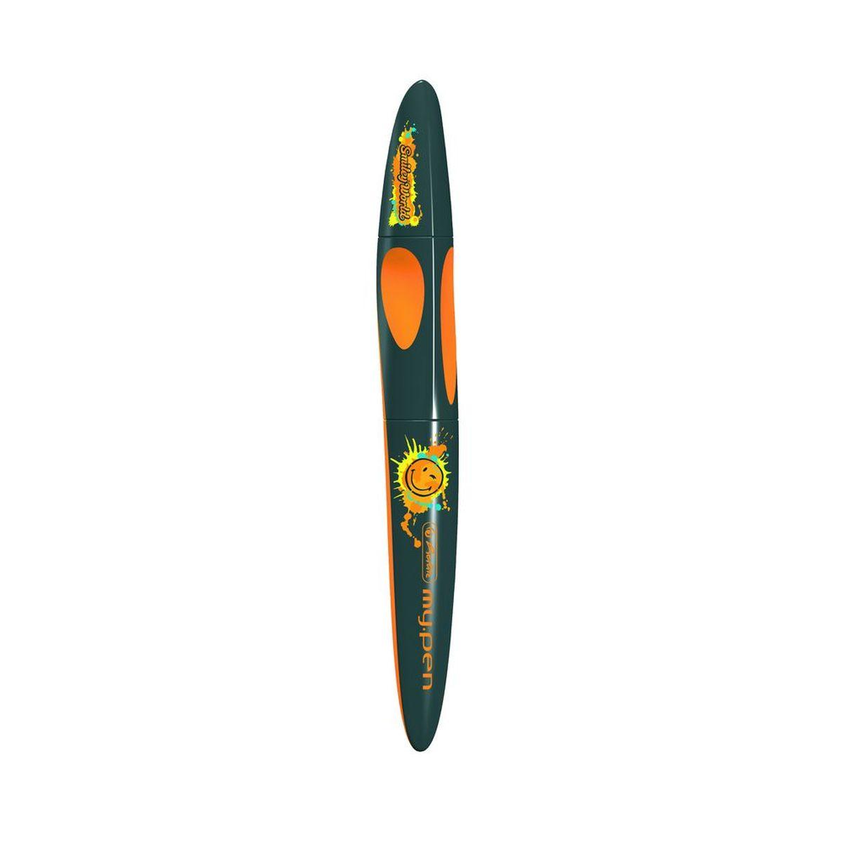 Herlitz Ручка-роллер Smiley World Edition72523WDРучка-роллер Herlitz Smiley World Edition оснащена пластиковым корпусом с эргономичной зоной охвата и вставками из резины, удобна для правшей и левшей. Благодаря сменным картриджам роллера со встроенной системой подачи чернил,эта ручка никогда не подведет вас. С ее помощью вы также можете стереть другие чернила.