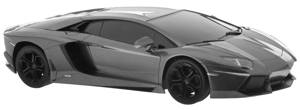 """Все мальчишки любят мощные крутые тачки! Особенно если это дорогие машины известной марки, которые, проезжая по улице, обращают на себя восторженные взгляды пешеходов. Радиоуправляемая модель TopGear """"Lamborghini 700"""" - это детальная копия существующего автомобиля в масштабе 1:24. Машинка изготовлена из прочного легкого пластика; колеса прорезинены. При движении передние и задние фары машины светятся. При помощи пульта управления автомобиль может перемещаться вперед, дает задний ход, поворачивает влево и вправо, останавливается. Встроенные амортизаторы обеспечивают комфортное движение. В комплект входят машинка и пульт управления. Автомобиль отличается потрясающей маневренностью и динамикой. Ваш ребенок часами будет играть с моделью, устраивая захватывающие гонки. Машина работает от 4 батареек напряжением 1,5V типа АА (не входят в комплект). Пульт управления работает от 2 батареек напряжением 1,5V типа АА (не входят в комплект)."""
