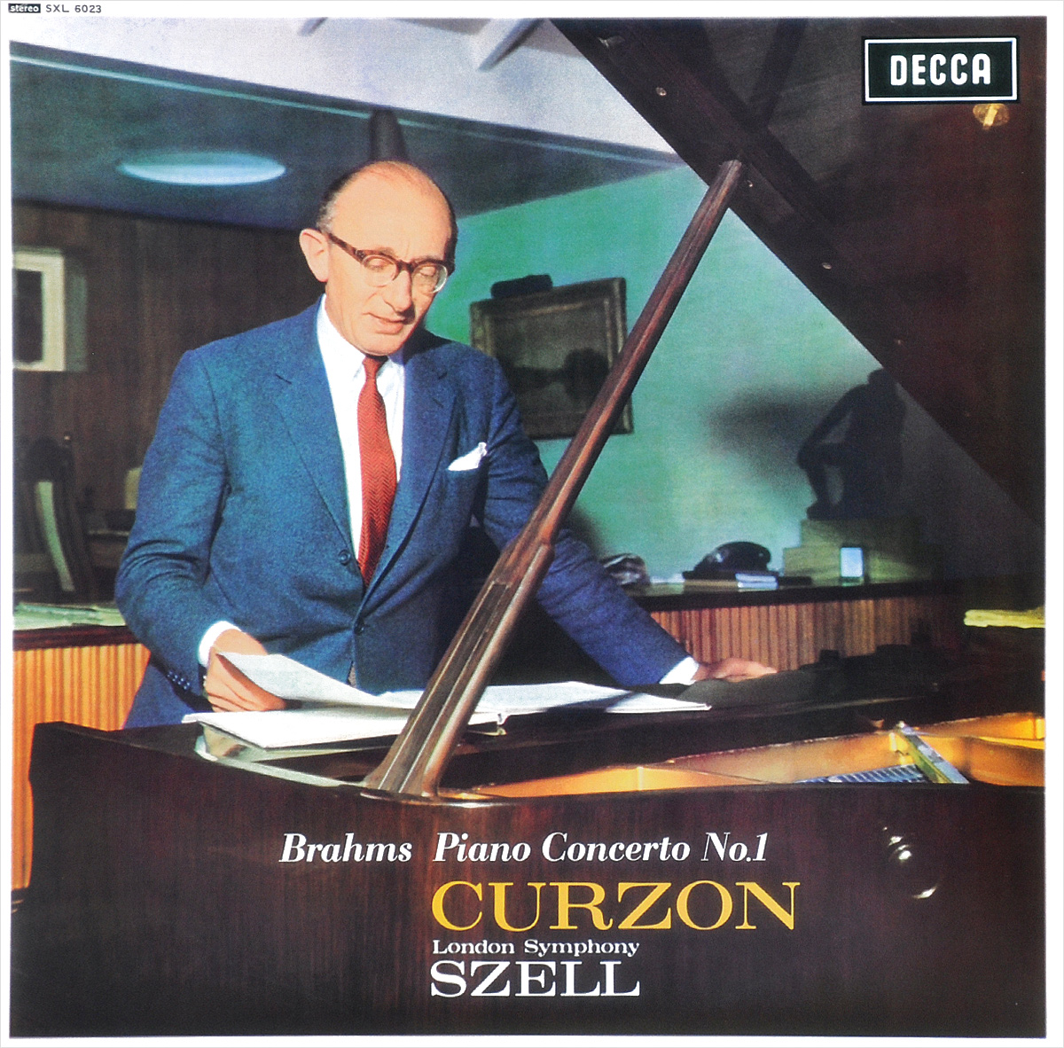 Джордж Селл,Клиффорд Курзон,The London Symphony Orchestra George Szell. Brahms. Piano Concerto No. 1 (LP)