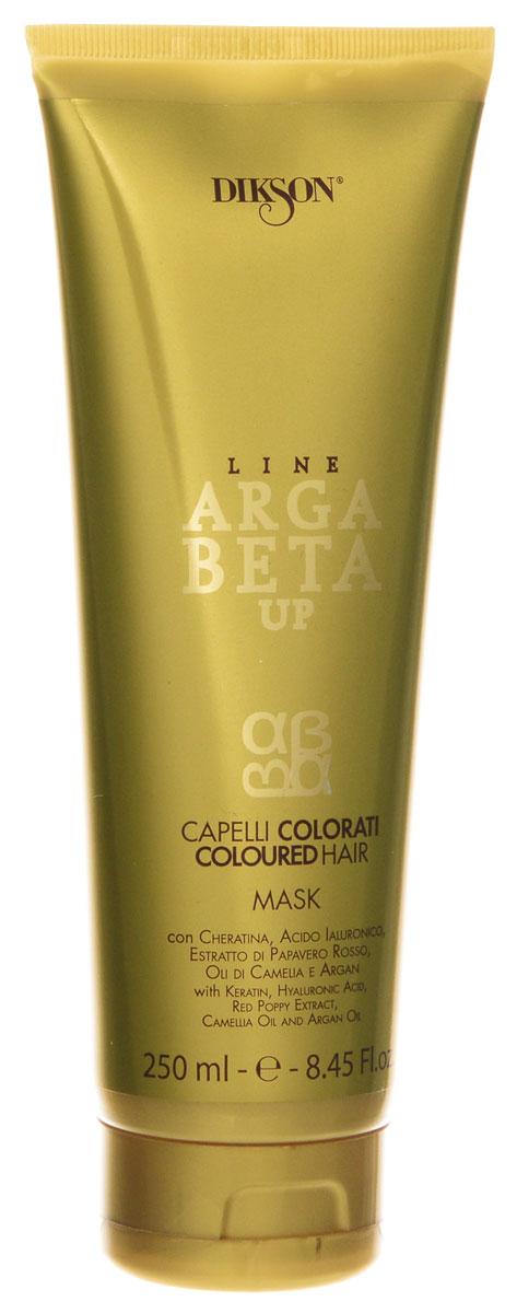 Dikson Maschera Argabeta Up Capelli Colorati Маска для окрашенных волос с кератином 250 млFS-00897Маска для окрашенных волос с кератином, гиалуроновой кислотой, экстрактом красного мака, маслом камелии и аргановым маслом. Благодаря кремообразной и плотной текстуре, идеально подходит для ухода за окрашенными волосами. Помогает сохранять яркость и блеск, делая волосы мягкими и густыми. В основе содержит комплекс кератина и гиалуроновой кислоты, который оказывает регенерирующее и увлажняющее воздействие на волосы, защищая их от преждевременного старения. Синергетическое взаимодействие экстрактов Красного мака, масла Камелии и Арганового масла сохраняет цвет ярким и насыщенным, продлевая стойкость окрашивания. Улучшает эффект светоотражения на волосах. Обеспечивает эффективный уход за волосами. Активные ингредиенты: Гиалуроновая кислота, кератин, красный мак, экстракт масла камелии и аргановое масло.