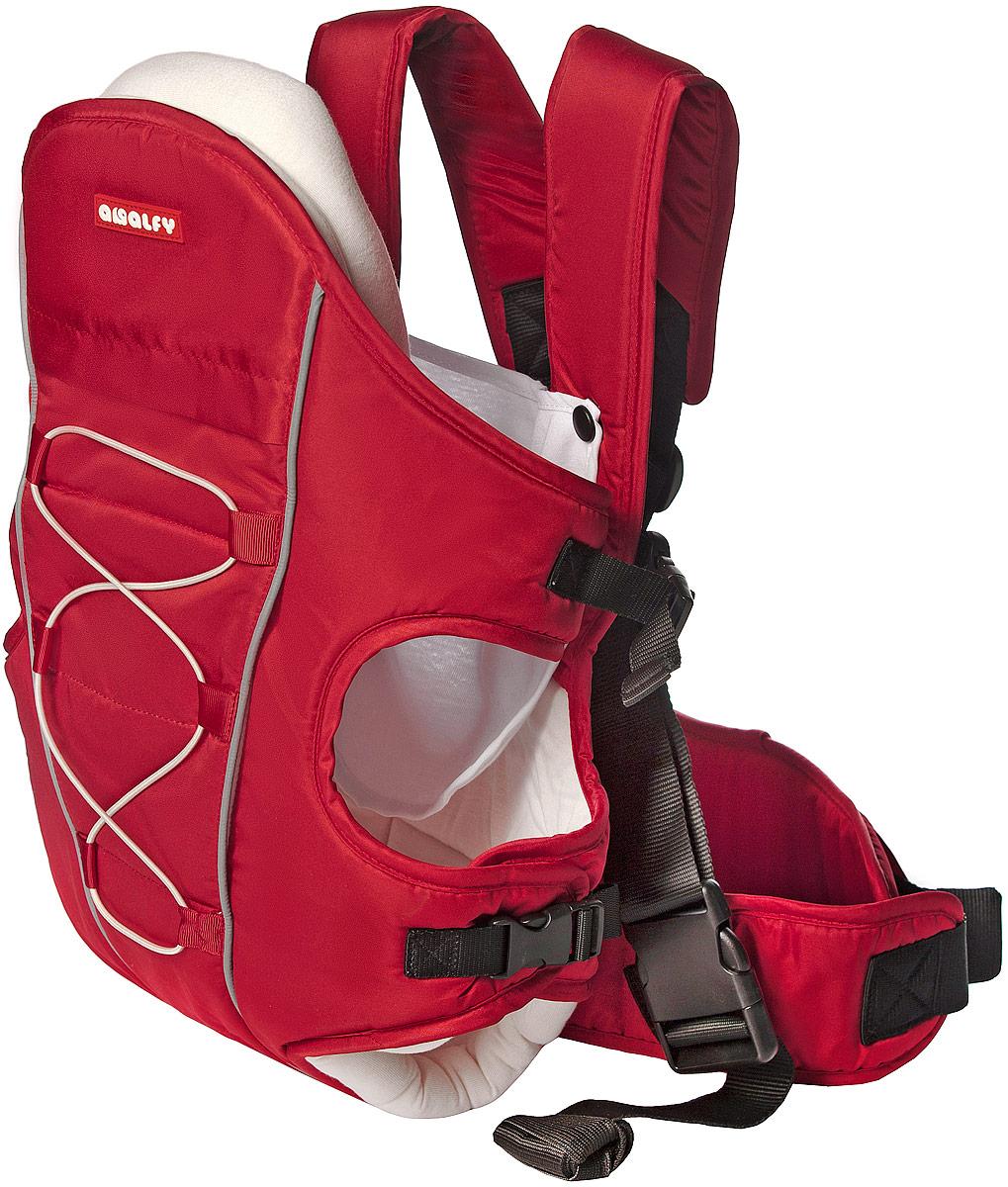 Happy Baby Рюкзак-переноска Amalfy цвет красный GB-809 -  Рюкзаки, слинги, кенгуру