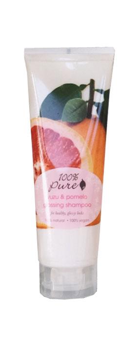 100% Pure Кондиционер для блеска волос Юзу и Помело, 236 млFS-00897Юзу и Помело - кондиционер, который придаст блеск и сияние волосам. Супер питательная формула дарит волосам глянцевый блеск, упругость и объем. Не содержат синтетических химических веществ, искусственных красителей, химических консервантов, сульфатов.