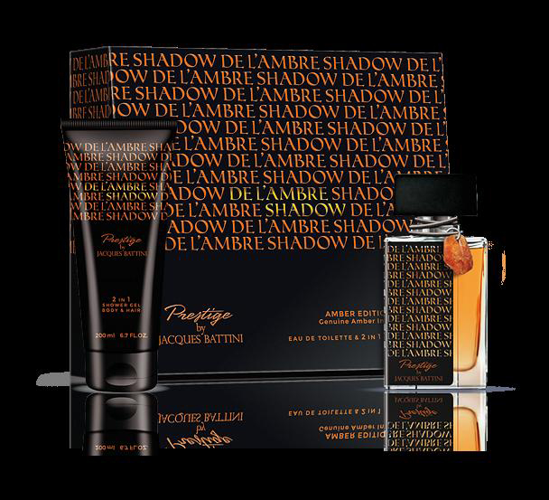 Jacgues Battini Cosmetics Подарочный Набор (Туалетная вода для мужчин De L'ambre Shadow, 50 мл + гель для душа De L'ambre Shadow, 200 мл)1301210это аромат для мужчин, принадлежит к группе ароматов древесные шипровые. De L`Ambre Shadow выпущен в 2013. Верхние ноты: Бергамот, Апельсин и Лаванда; ноты сердца: Цикламен, Герань и Жасмин; ноты базы: Белый кедр, Сандал и Мускус.De L`Ambre Shadow Jacques Battini - это аромат для мужчин, принадлежит к группе ароматов древесные шипровые. Изысканный флакон украшен кристаллом природного янтаря, и идеально подойдет для подарка. De L`Ambre Shadow выпущен в 2013. Верхние ноты: Бергамот, апельсин и Лаванда; ноты сердца: Цикламен, Герань и Жасмин; ноты базы: Белый кедр, Сандаловое дерево и Мускус.