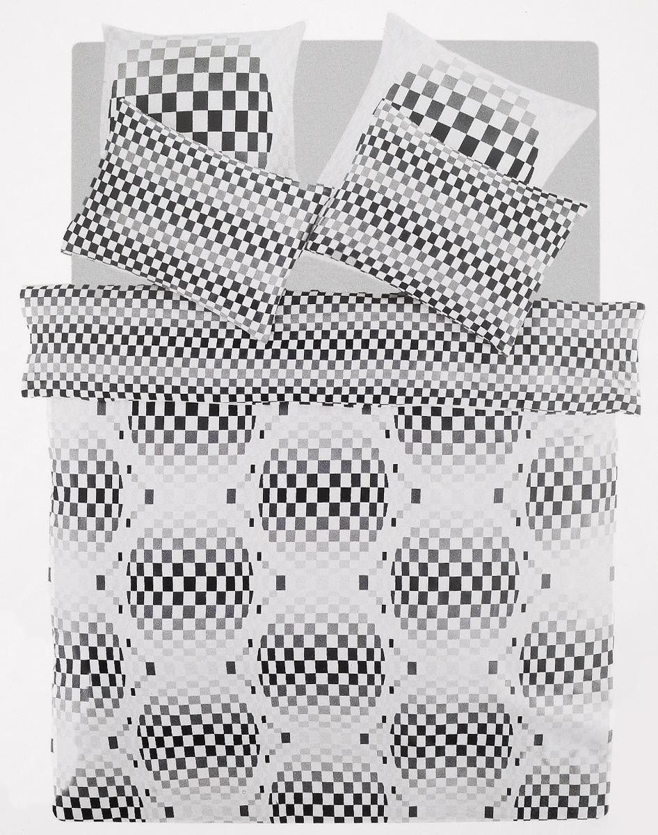 Комплект белья TAC Argos, 2-спальный, наволочки 50х70, 70х70, цвет: серый, белыйPW-57-143-220-69Роскошный комплект постельного белья TAC Argos выполнен из качественного плотного сатина с использованием фирменного нанесения Pano. Комплект состоит из пододеяльника, простыни и четырех наволочек. Пододеяльник застегивается на пуговицы.Сатин – гладкая и прочная ткань, которая своим блеском, легкостью и гладкостью похожа на шелк, но выгодно отличается от него в цене. Сатин практически не мнется, поэтому его можно не гладить. Ко всему прочему, он весьма практичен, так как хорошо переносит множественные стирки.Доверьте заботу о качестве вашего сна высококачественному натуральному материалу.