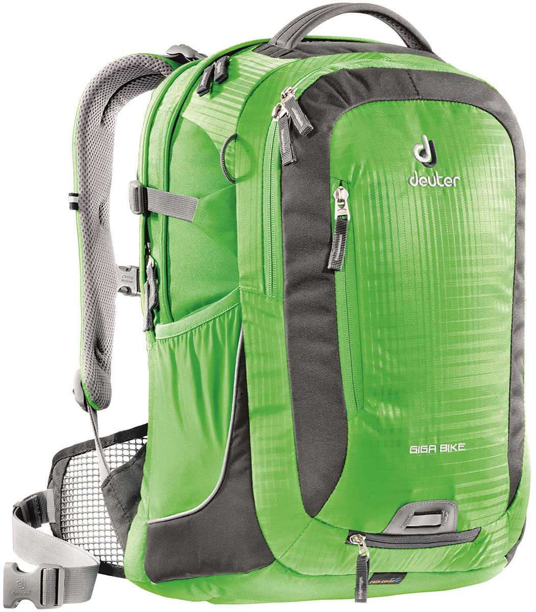 Рюкзак Deuter Giga Bike, цвет: зеленый, 28 л рюкзак deuter daypacks giga цвет черный 28л