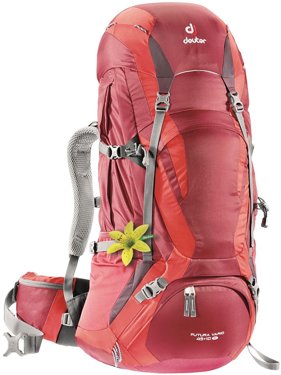 Рюкзак Deuter Futura Vario 45 + 10 SL , цвет: красный, 45+10 л leica vario x