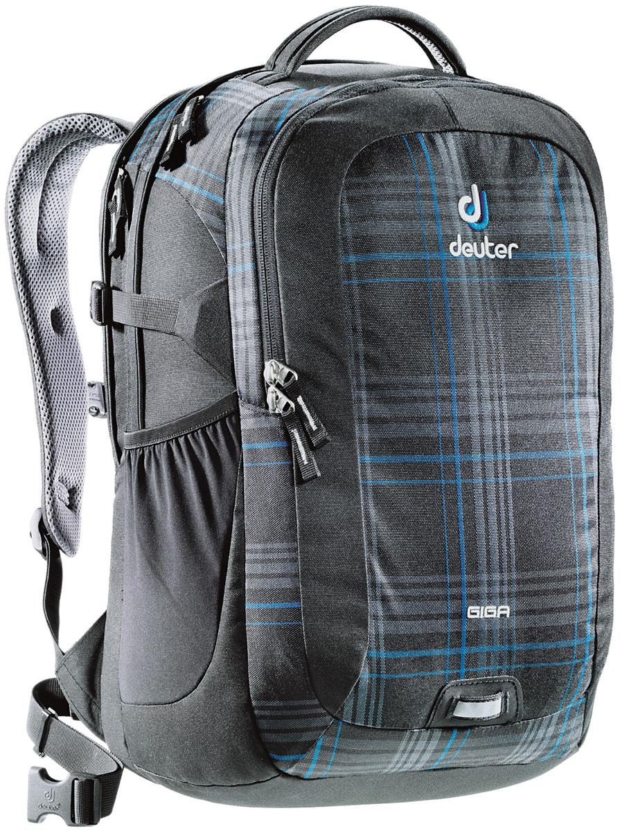 Рюкзак Deuter Daypacks Giga, цвет: черный, голубой, 28 л рюкзак deuter daypacks giga цвет черный 28л