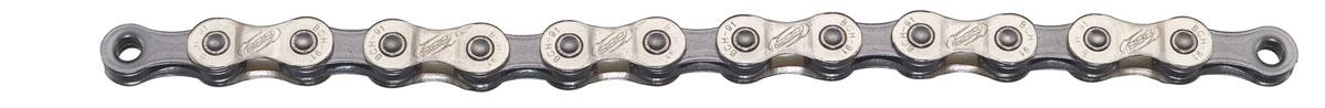 Цепь велосипедная BBB PowerLine, цвет: серый никель, 9 скоростей, 114 звеньевMHDR2G/AДевятискоростная цепь BBB PowerLine выполнена из прочного металла. Имеет 114 звеньев.