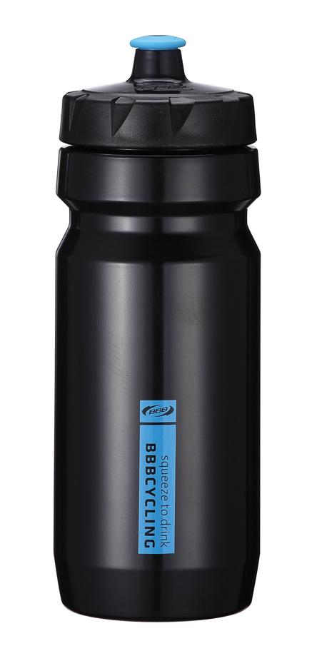 Бутылка для воды BBB CompTank, велосипедная, цвет: черный, синий, 550 мл7292Бутылка для воды BBB CompTank изготовлена из высококачественного полипропилена, безопасного для здоровья. Закручивающаяся крышка с герметичным клапаном для питья обеспечивает защиту от проливания. Оптимальный объем бутылки позволяет взять небольшую порцию напитка. Она легко помещается в сумке или рюкзаке и всегда будет под рукой. Такая идеальная бутылка небольшого размера, но отличной вместимости наполняет оптимизмом, даря заряд позитива и хорошего настроения. Бутылка для воды - отличное решение для прогулки, пикника, автомобильной поездки, занятий спортом и фитнесом. Высота бутылки (с учетом крышки): 21 см.Диаметр по верхнему краю: 5,5 см.Диаметр основания: 6,5 см.