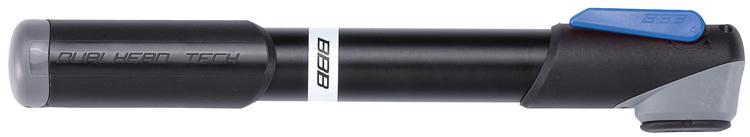 Велонасос BBB 2015 WindRush SГризлиНасос BBB 2015 WindRush S обладает легким корпусом из алюминия 6063 T6. Давление до 7 bar/100 psi. Металлический плунжер обеспечивает быстрое накачивание большого объема воздуха. Насос оснащен насадкой DualHead с фиксатором под большой палец. Колпачок предохраняет ниппели от загрязнения. Подходит для ниппелей Presta, Schrader и Dunlop.Длина: 230 мм.
