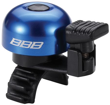Звонок велосипедный BBB EasyFit, цвет: синий