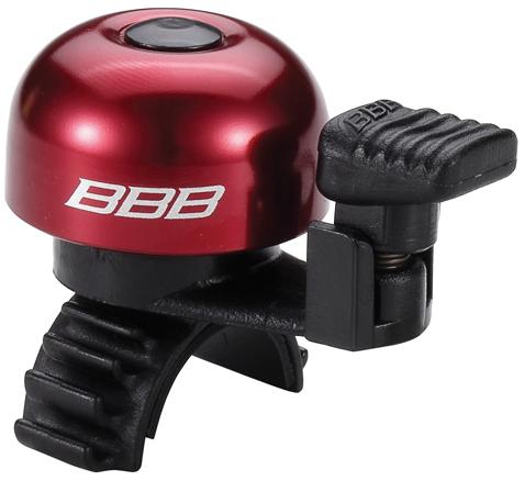 Звонок велосипедный BBB EasyFit, цвет: красный, черныйBBB-12Легкий звонок BBB EasyFit выполнен из прочного металла и оснащен пластиковым молоточком. Можно устанавливать в любом положении. Простое крепление подходит ко всем диаметрам рулей. Звонок легко ставить и снимать.