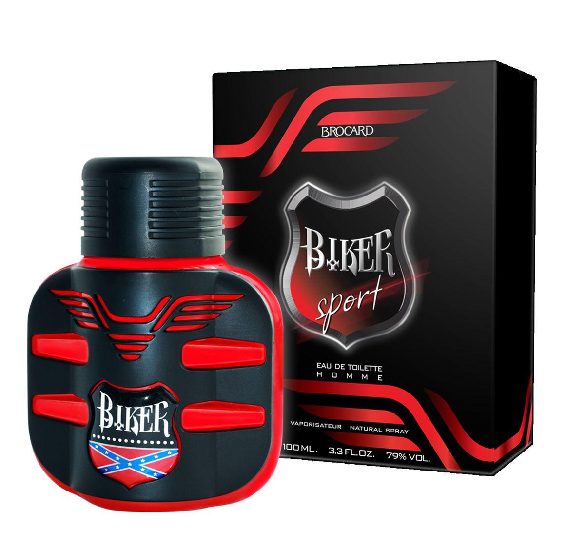 Brocard Biker Sport Туалетная вода для мужчин, 100 мл1301028Импульсивный, свежий, искрящийся, динамичный, порывистый и жизнеутверждающий...Цитрусово-фужерный аромат, созвучный порыву ветра. Скорость. Драйв. Эмоции...