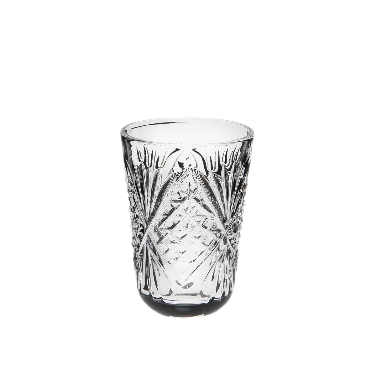 Стакан к графину Дятьковский хрусталь, 50 мл. С332/2VT-1520(SR)Хрустальные стаканы – красивое и простое решение для украшения праздничного стола. Стаканы из хрусталя универсальны, они подойдут и для алкогольных напитков – вина, шампанского, и для освежающих – минеральной воды, компота или сока. Если в вашей домашней коллекции еще нет предметов хрустальной посуды, купить хрустальные стаканы стоит обязательно.