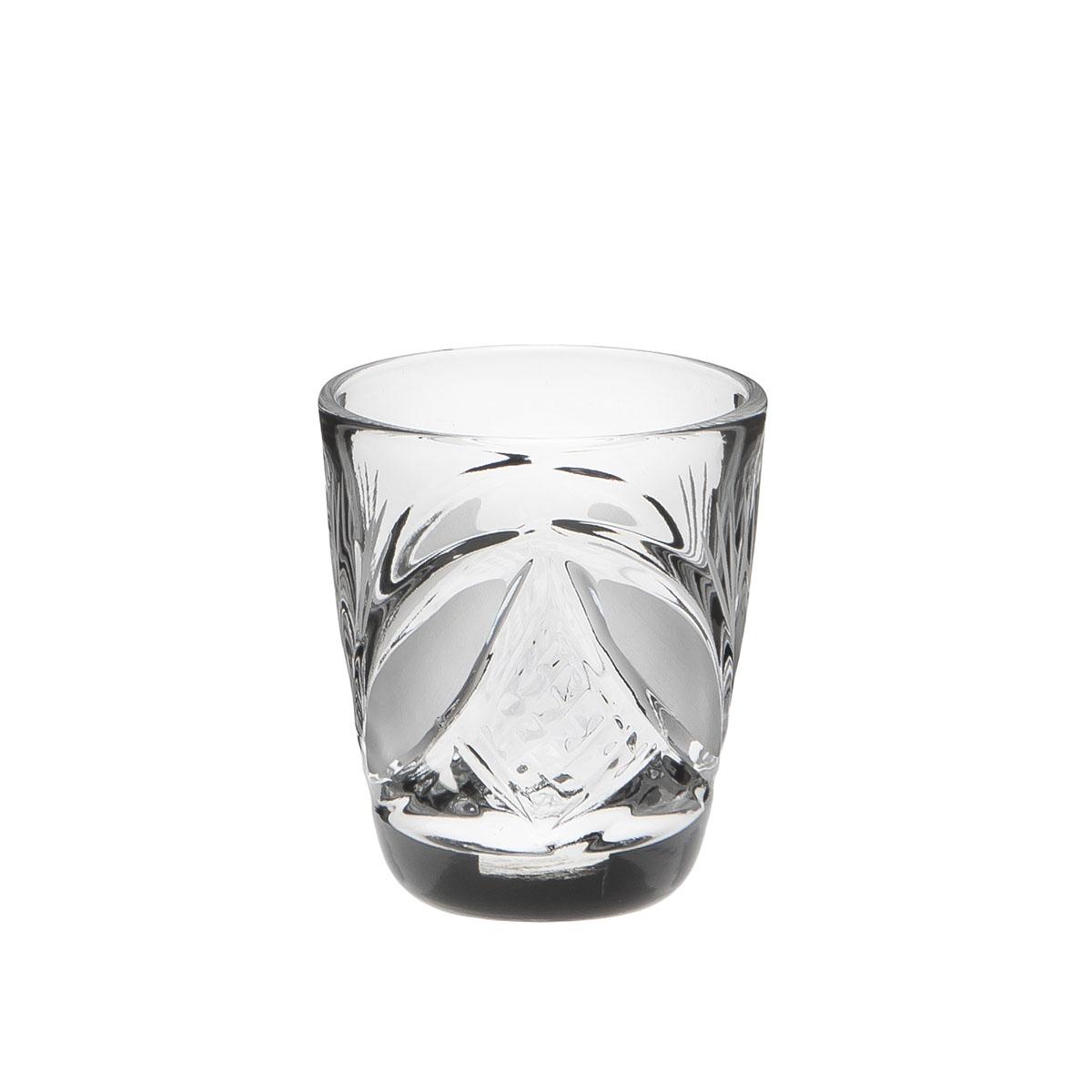 Стакан Дятьковский хрусталь Барыня. Камень, 30 мл. С344/6H5116Хрустальные стаканы – красивое и простое решение для украшения праздничного стола. Стаканы из хрусталя универсальны, они подойдут и для алкогольных напитков – вина, шампанского, и для освежающих – минеральной воды, компота или сока. Если в вашей домашней коллекции еще нет предметов хрустальной посуды, купить хрустальные стаканы стоит обязательно.