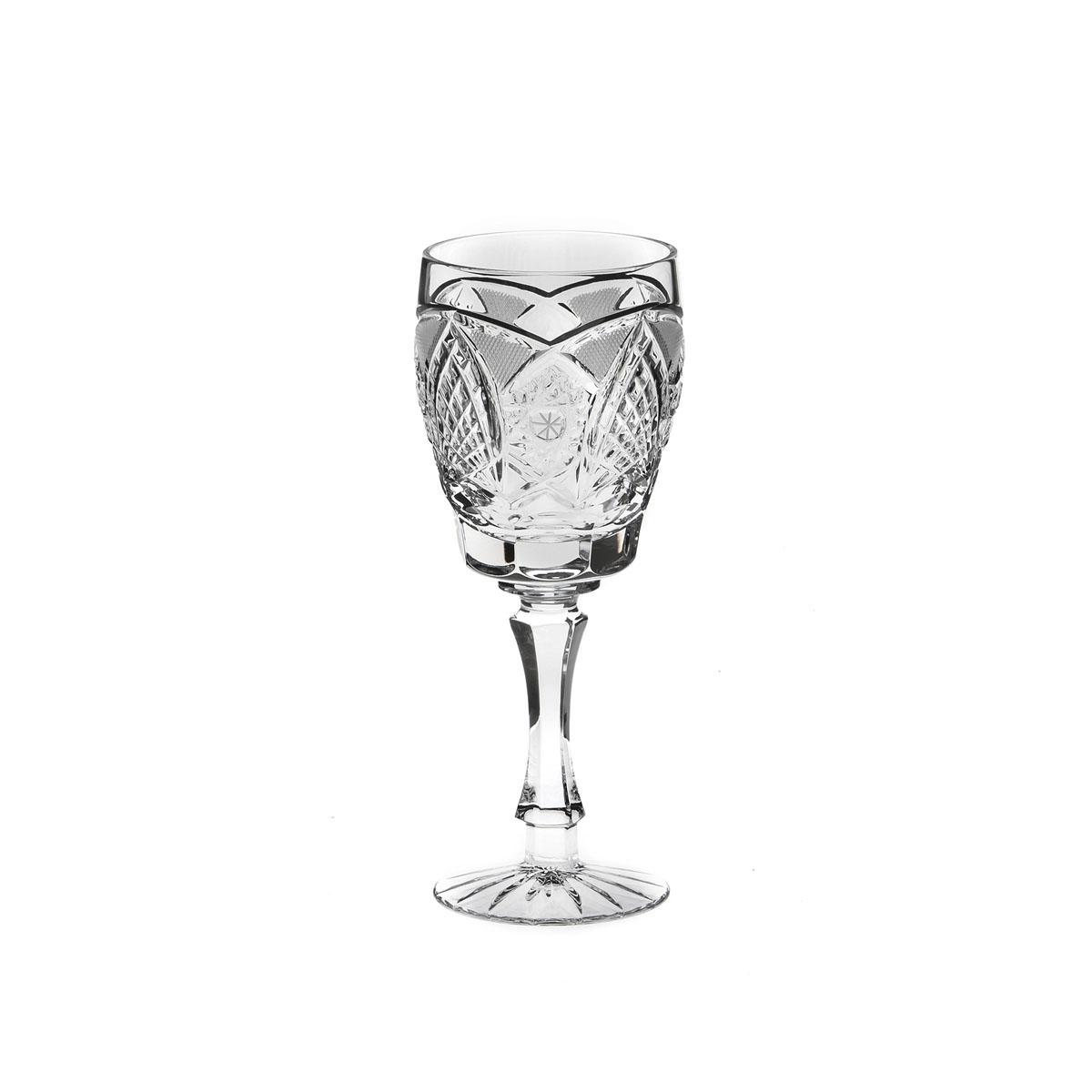 Бокал Дятьковский хрусталь Фирменный, 200 млGE09-411Бокал Дятьковский Хрусталь Фирменный, изготовленный из высококачественного прочного хрусталя, отлично дополнит вашу коллекцию посуды. Изделие декорировано красивым рельефом, отличается изысканным дизайном и высоким качеством исполнения. Бокал предназначен для вина. Красота всегда современна. Поэтому хрустальные бокалы продолжают быть желанным подарком, украшением интерьера и праздничного стола даже в эпоху хай-тека. Хрусталь несет ощущение праздничности, подчеркивает комфорт и порой даже придает интерьеру некую аристократичность. Диаметр (по верхнему краю): 6,5 см. Высота: 17,5 см.