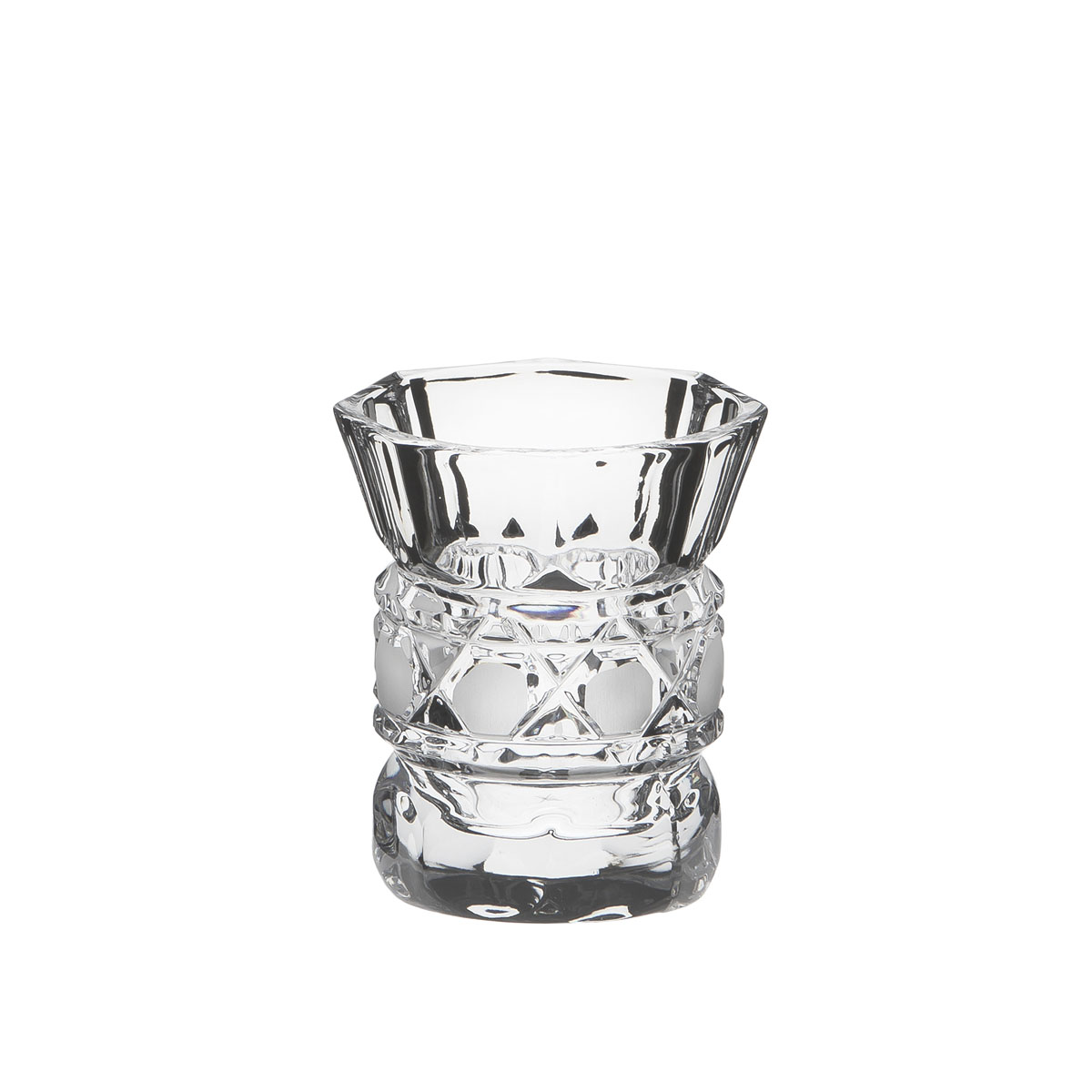 Стопка Дятьковский хрусталь Мария, 60 млVT-1520(SR)Стопка Дятьковский хрусталь Мария изготовлена из высококачественного хрусталя и идеально подходит для крепких спиртных напитков.Такая стопка станет отличным дополнением сервировки стола. Диаметр (по верхнему краю): 5,5 см.Высота: 6,5 см.