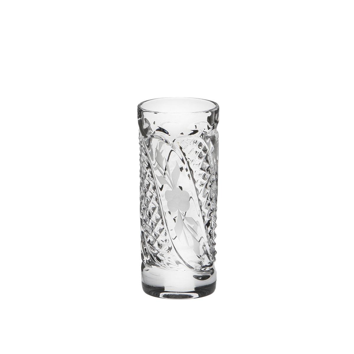 Стакан Дятьковский хрусталь Грация, 50 мл. С989/2VT-1520(SR)Хрустальные стаканы – красивое и простое решение для украшения праздничного стола. Стаканы из хрусталя универсальны, они подойдут и для алкогольных напитков – вина, шампанского, и для освежающих – минеральной воды, компота или сока. Если в вашей домашней коллекции еще нет предметов хрустальной посуды, купить хрустальные стаканы стоит обязательно.