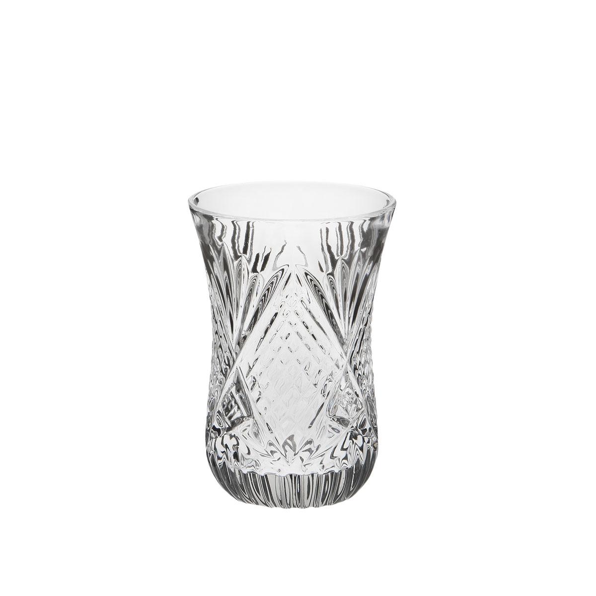 Стакан Дятьковский хрусталь Восточный, 125 мл. С998G5075Хрустальные стаканы – красивое и простое решение для украшения праздничного стола. Стаканы из хрусталя универсальны, они подойдут и для алкогольных напитков – вина, шампанского, и для освежающих – минеральной воды, компота или сока. Если в вашей домашней коллекции еще нет предметов хрустальной посуды, купить хрустальные стаканы стоит обязательно.